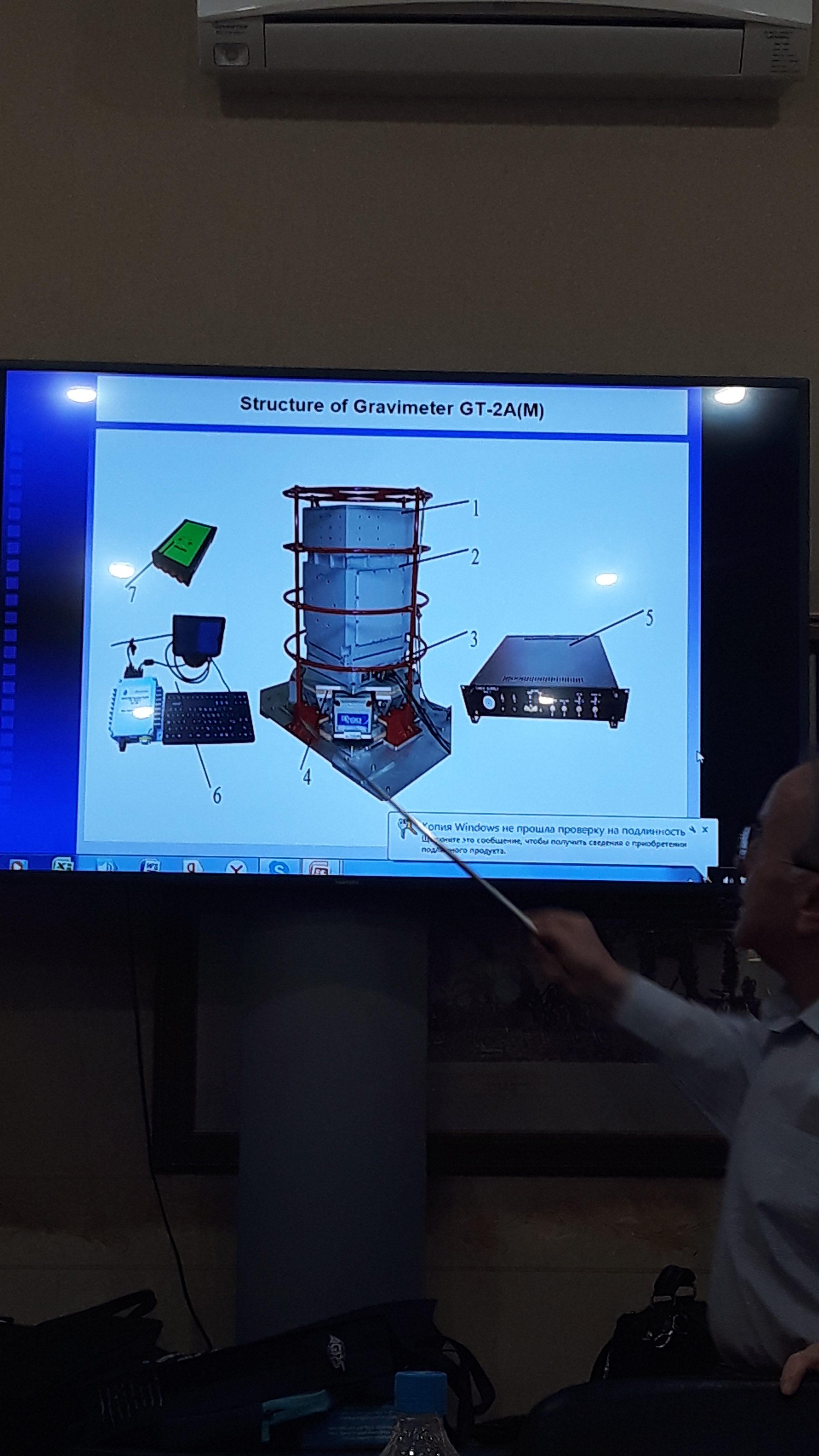 Đào tạo bảo dưỡng và bảo trì máy trọng lực hàng không GT-2A tại Nga