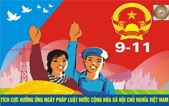 Tuyên truyền hưởng ứng Ngày Pháp luật Nước Cộng Hòa Xã Hội Chủ Nghĩa Việt Nam